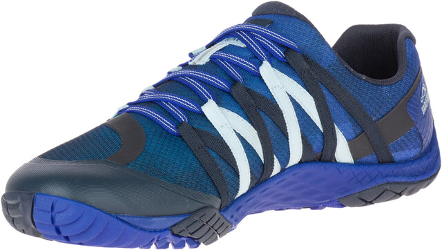 Merrell M's Trail Glove 4 Shoes Blå Sport